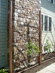 copper pipe trellis designs the chelsea trellis the chelsea 2