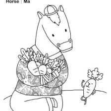 chinese coloring pages horse archives mente