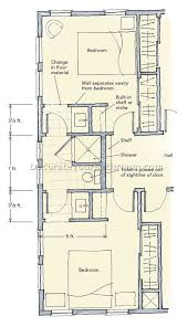 Best Bathroom Layouts by Most Jack And Jill Bathroom Plans With 13 Photos Home Devotee
