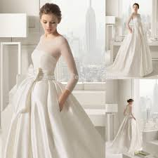 sheer sleeve wedding dresses 2015 chic ivory gown wedding dress sleeve sheer covered