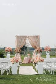 outdoor wedding decorations 12 gorgeous wedding ceremony decor ideas studio weddings and