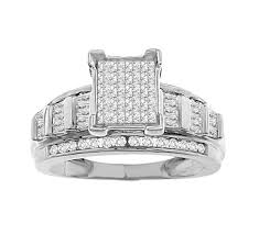 womens diamond rings 1 00 tcw women s diamond engagement ring set in 10k white gold