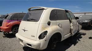 junkyard find 2004 chrysler pt cruiser gt turbo