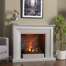 an white painted electric fireplace electric fireplace insert
