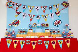 batman baby shower decorations owlie powlie