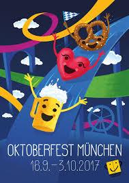 plakat design official 2017 oktoberfest poster announced