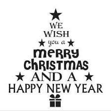 merry christmas sign christmas stencil 12x12 we wish you a merry tree shaped for