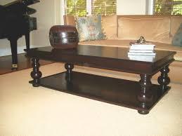 turned leg coffee table turned leg coffee table mediterranean living room los angeles