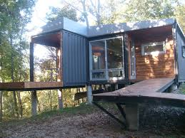 glamorous living in a shipping container home images ideas amys