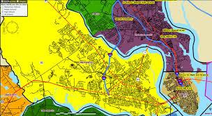 Charleston Sc Zip Code Map West Ashley Peninsular Charleston High Zones Map