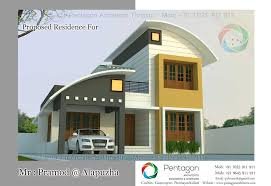 new homes plans low budget 3 bedroom modern home plan in kerala 2017 new home