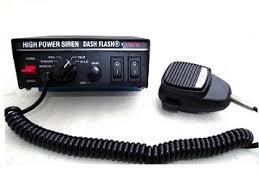 can volunteer firefighters have lights and sirens dash flash high power 100 watt siren dash flash police