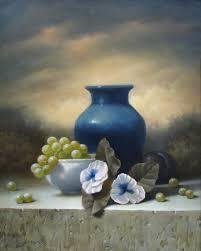 The Blue Vase Still Lifes