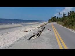 Blind Pass Beach Road Damage From Hurricane Irma At Blind Pass On Manasota Key