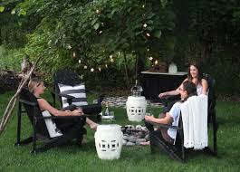 Cape Cod Girls - the yellow cape cod hosting a laid back girls night under the stars
