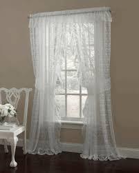 Lorraine Curtains Lace Curtains Priscilla Ruffled Curtain Pair Valances Or
