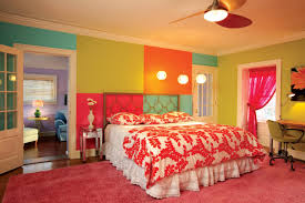 Home Decor Like Urban Outfitters Bedroom Cheerful Living With Colorful Beddings Colorful Bedding