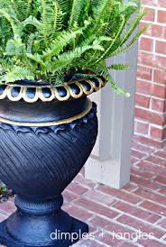 Outdoor Planter Ideas by Dimples And Tangles Diy Outdoor Planter Ideas