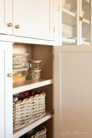 how to organise kitchen cabinets kitchen pantry how to organize your pantry cabinet julie