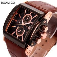watches men luxury brand boamigo fashion casual sports military