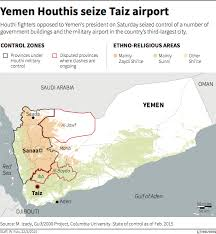 where is yemen on the map the who where and why of the yemen conflict