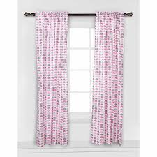 Elephant Curtains For Nursery Bacati Mini Elephants Curtain Panel 42 X 84 Inches 100 Cotton