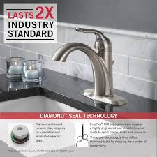 delta 538 ssmpu dst lahara single handle centerset lavatory faucet