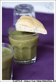cuisine nord africaine soupe froide de cosses de fèves marmotte cuisine