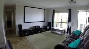 home theater projector setup benq w1070 projector budget home cinema setup youtube