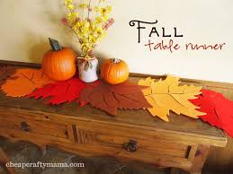 fall runner 1024x768 craft ideas pinterest fall table runner