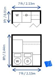 Typical Cabinet Depth Laundry Room Dimensions