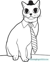 cat hat coloring pages colotring pages
