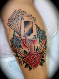 Card Tattoos Designs Traditional Tattoos Designs And Ideas Page 49