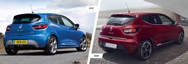 renault hatchback 2017 renault clio facelift old vs new compared carwow