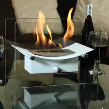 sunnydaze zen ventless tabletop fireplace u2013 bio ethanol