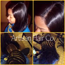 full sew in weave with no hair out lace closure sew in no leave out artisan hair company llc