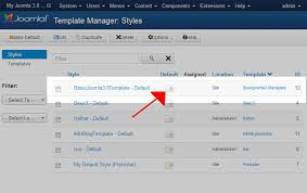 how to change your joomla 3 1 site template inmotion hosting