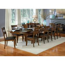Sunny Designs Vineyard Extension Table by Vineyard Wood Rectangular Dining Table U0026 Chairs In Rustic Mahogany