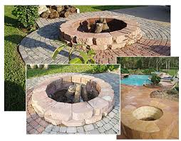Texas Fire Pit by Outdoor Fire Pits Stamped Artistry Houston Texas