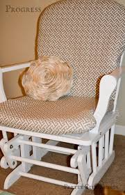Cushions For Glider Rocking Chairs Diy How To Recover A Nursery Glider Emmerson And Fifteenth