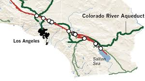 California Aqueduct Map Earthquake Threats To California U0027s Water La Times