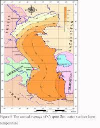 Caspian Sea World Map by The Hydromorphology Of The Caspian Sea Khoshravan 1