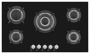 Ge Glass Cooktops Kitchen The Ge Jgp970bekbb 36 Inch Gas Cooktop With 5 Sealed