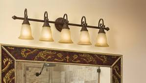 Bathroom Bar Lighting Fixtures 5 Light Vanity Lights Bathroom Bar Lights