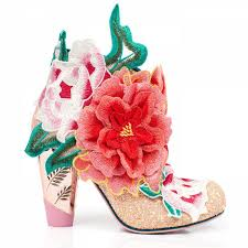 wedding shoes irregular choice irregular choice rows garden pink floral high heel party wedding