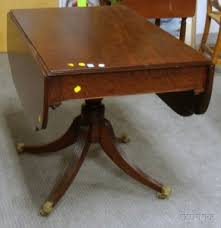 Drop Leaf End Table Search All Lots Skinner Auctioneers