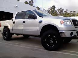 pics of lifted ford trucks lets see those lifted 2wd trucks i need ideas ford f150 forum