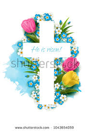 cross with flowers stock images royalty free images vectors
