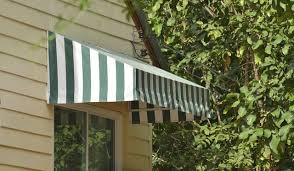 Cloth Window Awnings How To Clean Canvas Awnings Hunker