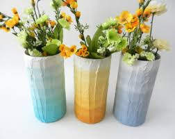 Trio Vases Trio Of Vases Instant Collection Pastel Home Decor Made